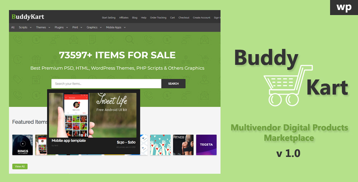 How to install Buddykart – multivendor digital products marketplace